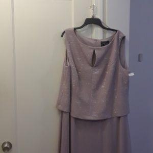 Women's plus size after five dress